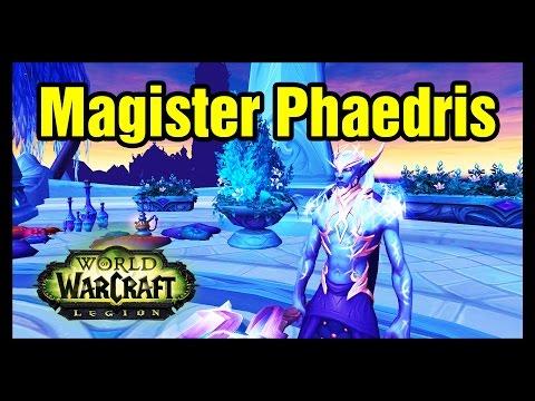Where is Magister Phaedris WoW Rare