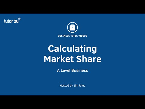 Marketing: Calculating Market Share