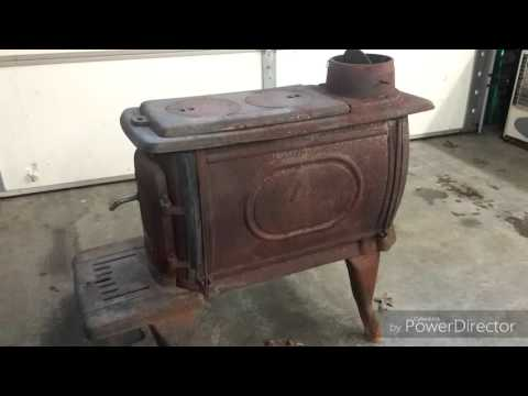 How I refinished a rusty wood stove