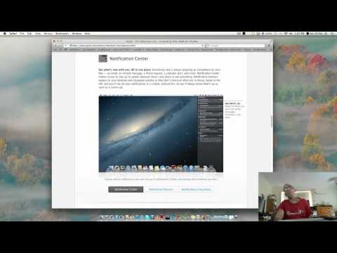 OSX Mountain Lion a look at 10 features