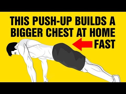 Build a Bigger Chest At Home With This Push-Up - How To Do Wide Grip Push-Ups Correctly