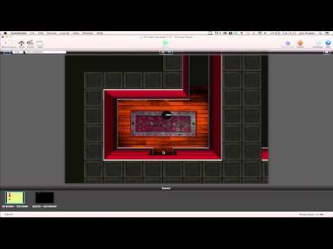 Stormy Studios 3D Rooms Blocks Template for GameSalad (Video 1)