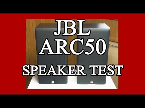 JBL ARC50 Speaker Test Demo
