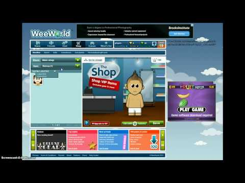 how to make a hot guy on weeworld!