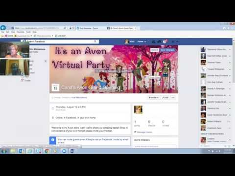 How to create a Face Book Party Event