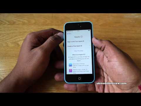 Apple iPhone 5C - Initial Set Up Guide Walkthrough