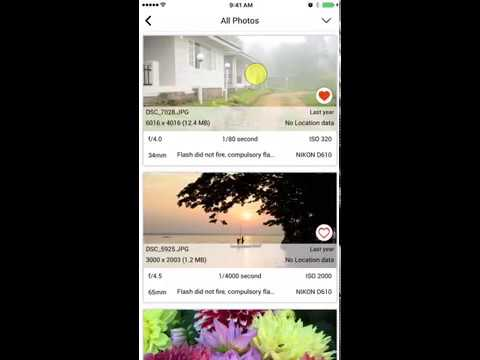How to get metadata from photos - Exif Viewer by Fluntro for iPhone and iPad 30 seconds preview