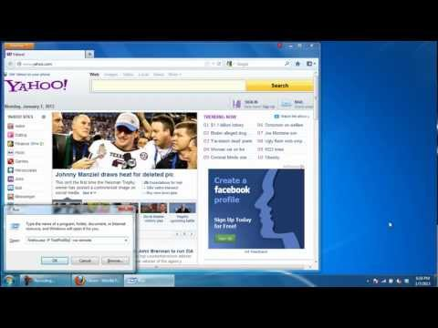 How to run multiple Profiles in Firefox