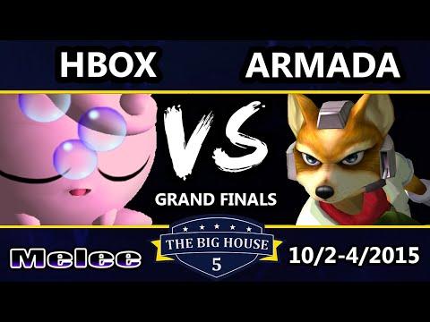 The Big House 5 - Armada (Fox) Vs. Hungrybox (Jigglypuff) - Grand Finals - SSBM