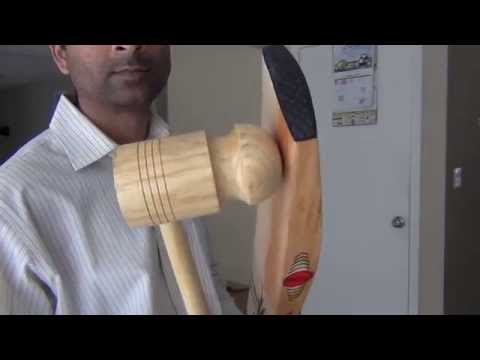 How To Knock A Cricket Bat