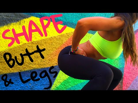 How to Get Rid of Saggy Legs and Butt Workout