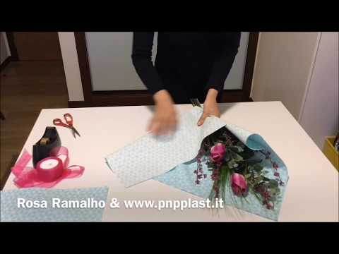 How do you wrap a small bouquet quickly #wrapflowers