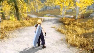 FF7 AC Unstoppable Cloud Strife! (TES4 Oblivion)