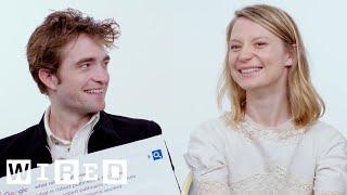 Robert Pattinson & Mia Wasikowska Answer the Web