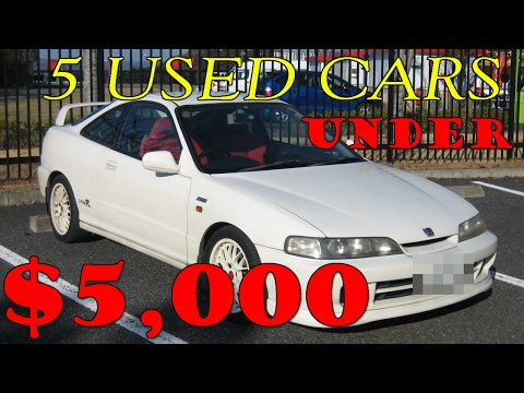 Top 5 Best Cheap Used Cars Under $5000!