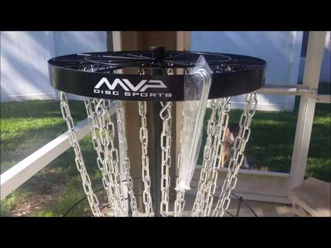 Best Disc Golf Basket MVP Black Hole Pro Practice Basket