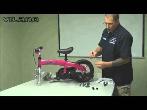 2in1 video out of box to pedal bike with training wheels