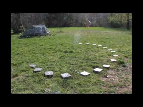 Another backyard sundial timelapse from PrecisionSundial, Ledyard CT