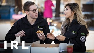 IRL | Bjergsen stuffs his face with Danishes - HTC Esports