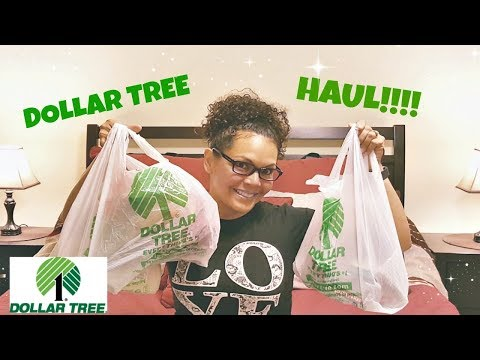 DOLLAR TREE HAUL 2017 | NEW FINDS  | MY 1ST DOLLAR TREE HAUL VIDEO