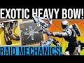 Destiny 2 TITAN EXOTIC amp RAID MECHANIC MODS SCUF Giveaway Exotic Heavy Bow Void Gjallarhorn