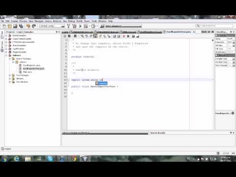 Java Export a JTable to Excel by MEL