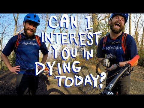Bobo is trying to kill me | Mountain Biking Kitsuma near Asheville, North Carolina