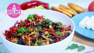 ბადრიჯნის სალათა კორეულად 🍆 Badrijnis Salata Koreulad
