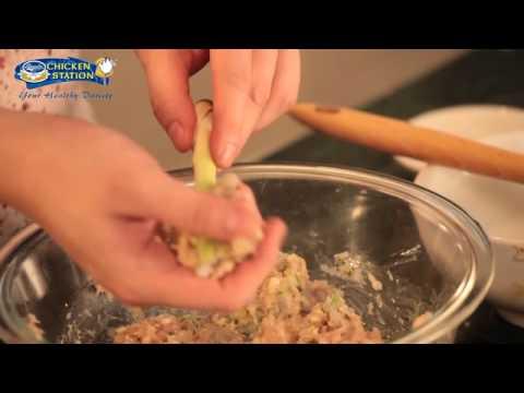 Chicken with Lemongrass Sticks