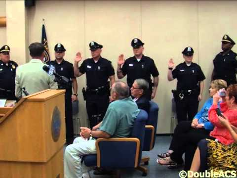 Attleboro Auxiliary Police Graduation Ceremony