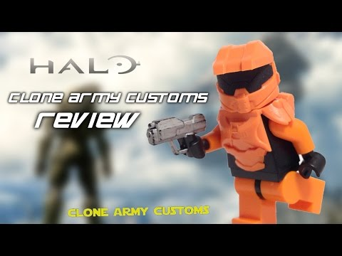Clone Army Customs | Halo Armor Review
