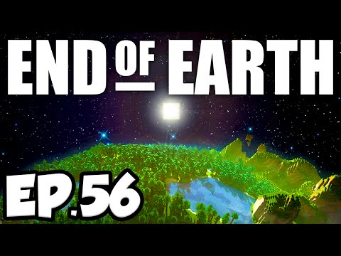 End of Earth: Minecraft Modded Survival Ep.56 - THE ENDER DRAGON!!! (Steve's Galaxy Modpack)