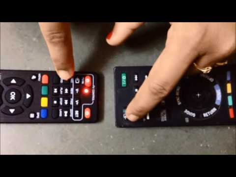 Make set top box remote work as  tv remote
