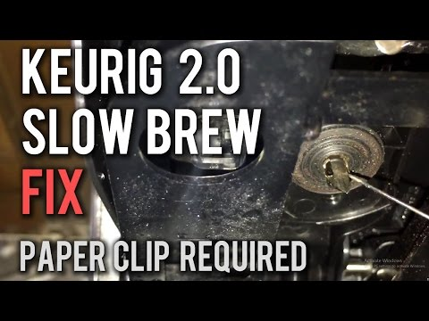 Keurig 2.0 Slow or Not Brewing How To Fix