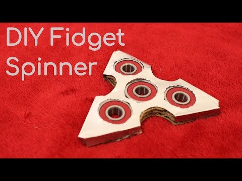How To Make a Metal Plated Fidget Spinner