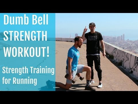 Strength Training for Running | Dumbbell Workout for Hips and Shoulders