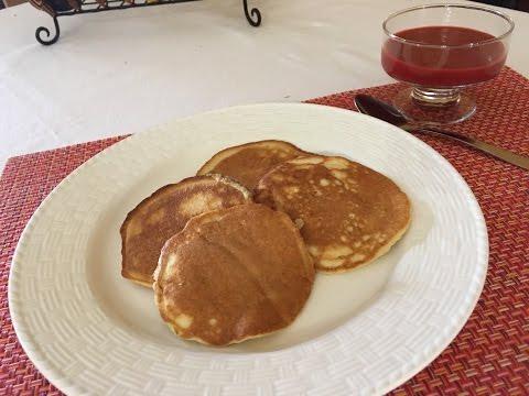 Almond Flour Pancakes/Low Carb/Gluten Free