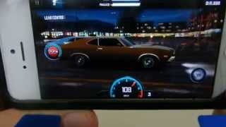 Iphone5一番面白い、ワイルドスピードザゲームレースrace  game Fast and Furious 6 Euro mission
