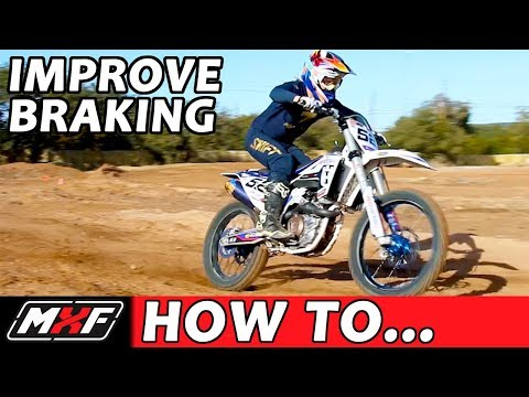 How to Master Braking Technique on a Dirt Bike - 3 Steps w/ Practice Drills!!