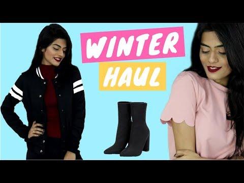 Winter Haul from Shein & Romwe   Dhwani Bhatt