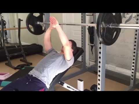 Incline Bench Press Form for a Steel Chest