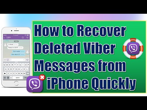 How to Recover Deleted Viber Messages on iPhone
