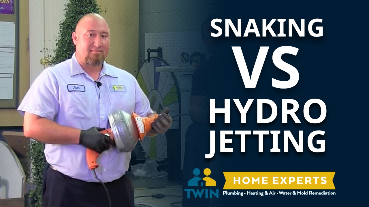 Snaking vs. Hydrojetting