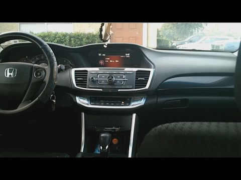 How to change wallpaper in your car 2013 or 2014 Honda Accord