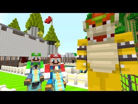 Minecraft Wii U - NEW Super Mario Adventures - BOWSER