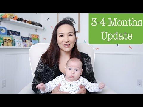 Baby Update 3-4 Months | Growth | Development | Sleep | Breastfeeding