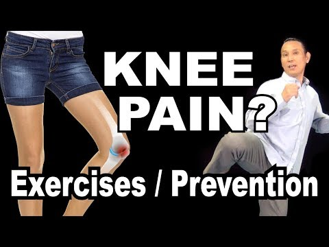 Suffer from KNEE PAIN? How to prevent with Stretching and Strength Training | Types of Knee Pain
