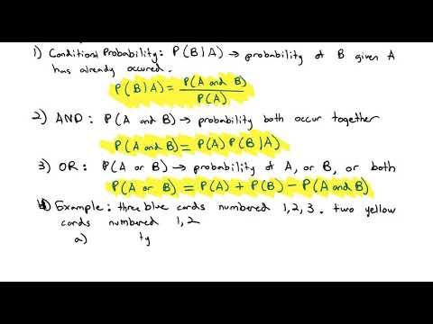 2.1 Probability Formulas