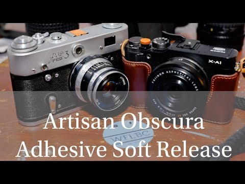 Customize Your Camera - Artisan Obscura Sticky Backed Release Button