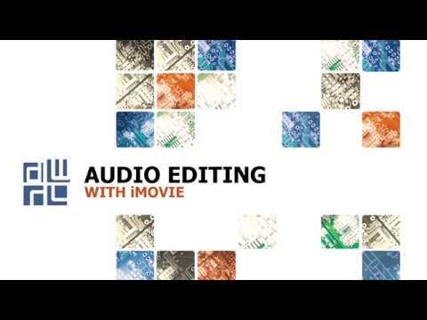 DWRL Tutorial: audio editing with iMovie